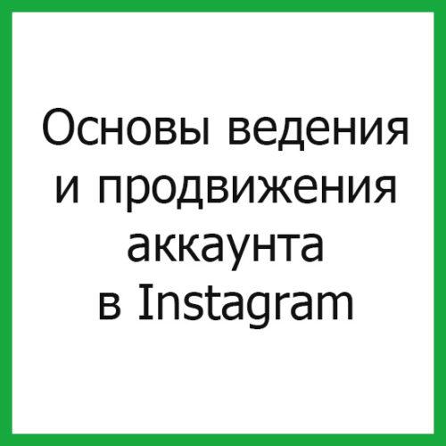 video-kurs-osnovy-vedeniya-i-prodvizheniya-akkaunta-v-instagram   naoblakax.ru